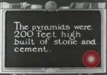 Image of Pyramid of the Sun Teotihuacan Mexico, 1925, second 24 stock footage video 65675023035