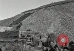 Image of Pyramid of the Sun Teotihuacan Mexico, 1925, second 27 stock footage video 65675023035
