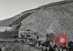 Image of Pyramid of the Sun Teotihuacan Mexico, 1925, second 28 stock footage video 65675023035
