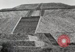 Image of Pyramid of the Sun Teotihuacan Mexico, 1925, second 30 stock footage video 65675023035