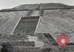 Image of Pyramid of the Sun Teotihuacan Mexico, 1925, second 31 stock footage video 65675023035
