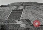 Image of Pyramid of the Sun Teotihuacan Mexico, 1925, second 32 stock footage video 65675023035