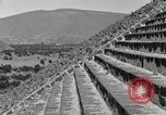 Image of Pyramid of the Sun Teotihuacan Mexico, 1925, second 40 stock footage video 65675023035