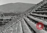 Image of Pyramid of the Sun Teotihuacan Mexico, 1925, second 42 stock footage video 65675023035