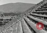 Image of Pyramid of the Sun Teotihuacan Mexico, 1925, second 43 stock footage video 65675023035