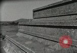 Image of Pyramid of the Sun Teotihuacan Mexico, 1925, second 49 stock footage video 65675023035