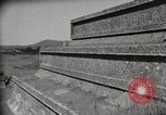 Image of Pyramid of the Sun Teotihuacan Mexico, 1925, second 50 stock footage video 65675023035