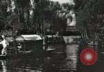 Image of Aztec Viga Canals Mexico City Mexico, 1925, second 21 stock footage video 65675023039