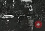 Image of Aztec Viga Canals Mexico City Mexico, 1925, second 22 stock footage video 65675023039