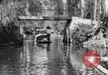 Image of Aztec Viga Canals Mexico City Mexico, 1925, second 39 stock footage video 65675023039