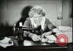 Image of Relief Administration Sewing Projects Los Angeles California USA, 1935, second 19 stock footage video 65675023046
