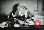 Image of Relief Administration Sewing Projects Los Angeles California USA, 1935, second 21 stock footage video 65675023046