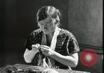 Image of Relief Administration Sewing Projects Los Angeles California USA, 1935, second 34 stock footage video 65675023046