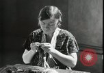 Image of Relief Administration Sewing Projects Los Angeles California USA, 1935, second 35 stock footage video 65675023046