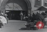 Image of Guadalupe Mexico town square Guadalupe Mexico, 1920, second 62 stock footage video 65675023054