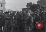 Image of Gabriele D'Annunzio welcomed as he enters Fiume Fiume Croatia, 1919, second 3 stock footage video 65675023056