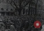 Image of Gabriele D'Annunzio welcomed as he enters Fiume Fiume Croatia, 1919, second 21 stock footage video 65675023056