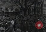 Image of Gabriele D'Annunzio welcomed as he enters Fiume Fiume Croatia, 1919, second 25 stock footage video 65675023056