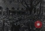Image of Gabriele D'Annunzio welcomed as he enters Fiume Fiume Croatia, 1919, second 27 stock footage video 65675023056