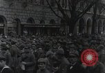 Image of Gabriele D'Annunzio welcomed as he enters Fiume Fiume Croatia, 1919, second 29 stock footage video 65675023056
