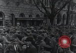 Image of Gabriele D'Annunzio welcomed as he enters Fiume Fiume Croatia, 1919, second 32 stock footage video 65675023056