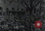 Image of Gabriele D'Annunzio welcomed as he enters Fiume Fiume Croatia, 1919, second 33 stock footage video 65675023056