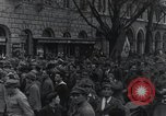 Image of Gabriele D'Annunzio welcomed as he enters Fiume Fiume Croatia, 1919, second 40 stock footage video 65675023056