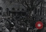 Image of Gabriele D'Annunzio welcomed as he enters Fiume Fiume Croatia, 1919, second 41 stock footage video 65675023056