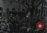 Image of Gabriele D'Annunzio welcomed as he enters Fiume Fiume Croatia, 1919, second 43 stock footage video 65675023056