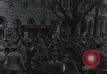 Image of Gabriele D'Annunzio welcomed as he enters Fiume Fiume Croatia, 1919, second 44 stock footage video 65675023056