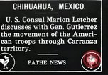 Image of Marion Letcher Chihuahua Mexico, 1916, second 1 stock footage video 65675023062