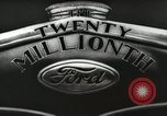 Image of Ford promotional on occasion of 20 millionth automobile Detroit Michigan USA, 1931, second 22 stock footage video 65675023075