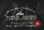 Image of Ford promotional on occasion of 20 millionth automobile Detroit Michigan USA, 1931, second 26 stock footage video 65675023075