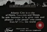 Image of Hotels and boardwalk Atlantic City New Jersey USA, 1917, second 1 stock footage video 65675023084
