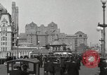 Image of Hotels and boardwalk Atlantic City New Jersey USA, 1917, second 3 stock footage video 65675023084
