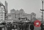 Image of Hotels and boardwalk Atlantic City New Jersey USA, 1917, second 4 stock footage video 65675023084