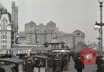 Image of Hotels and boardwalk Atlantic City New Jersey USA, 1917, second 5 stock footage video 65675023084