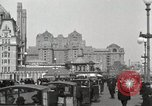 Image of Hotels and boardwalk Atlantic City New Jersey USA, 1917, second 6 stock footage video 65675023084
