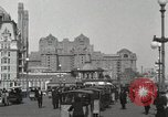 Image of Hotels and boardwalk Atlantic City New Jersey USA, 1917, second 11 stock footage video 65675023084