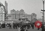 Image of Hotels and boardwalk Atlantic City New Jersey USA, 1917, second 12 stock footage video 65675023084