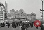 Image of Hotels and boardwalk Atlantic City New Jersey USA, 1917, second 13 stock footage video 65675023084