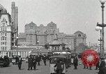 Image of Hotels and boardwalk Atlantic City New Jersey USA, 1917, second 14 stock footage video 65675023084