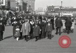 Image of Hotels and boardwalk Atlantic City New Jersey USA, 1917, second 15 stock footage video 65675023084