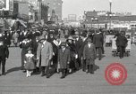 Image of Hotels and boardwalk Atlantic City New Jersey USA, 1917, second 16 stock footage video 65675023084