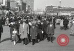 Image of Hotels and boardwalk Atlantic City New Jersey USA, 1917, second 17 stock footage video 65675023084
