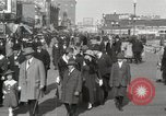 Image of Hotels and boardwalk Atlantic City New Jersey USA, 1917, second 19 stock footage video 65675023084