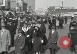 Image of Hotels and boardwalk Atlantic City New Jersey USA, 1917, second 20 stock footage video 65675023084