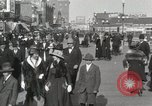 Image of Hotels and boardwalk Atlantic City New Jersey USA, 1917, second 21 stock footage video 65675023084