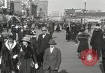 Image of Hotels and boardwalk Atlantic City New Jersey USA, 1917, second 22 stock footage video 65675023084