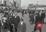 Image of Hotels and boardwalk Atlantic City New Jersey USA, 1917, second 23 stock footage video 65675023084